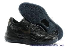 low priced 9b76e 90605 Nike KOBE 8 GC EXT ALL BLACK SHOES Discount Nike Kobe Bryant, Kobe Bryant  Shoes