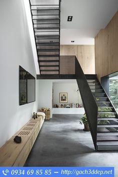 Treppe, Treppen Design, Schwarze Treppe, Treppenlift, Treppenarchitektur,  Metalltreppe, Haus Studio, Kopenhagen, Peter Ou0027toole