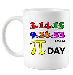 Pi Day 3.14.15 Dedication Coffee Mug