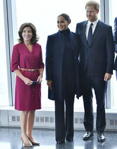 Prince Harry and Meghan Markle visited One World Trade Centre