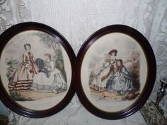 Vintage Godney French Prints Pictures Set Lady by FabulousFinds1, $64.95