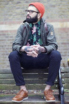 Hipster || Streetstyle Inspiration for Men! #WORMLAND Men's Fashion