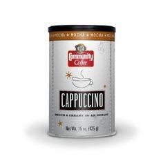 Community Coffee Instant Cappuccino Mocha #AmazonGrocery