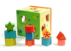 Babylian(TM) Baby Toys Color Recognition Intelligence Toys Bricks/Toys Brocks,Wooden Shape Sorter Cube,Early Childhood Education for 1-3 Years Old  http://www.babystoreshop.com/babyliantm-baby-toys-color-recognition-intelligence-toys-brickstoys-brockswooden-shape-sorter-cubeearly-childhood-education-for-1-3-years-old/
