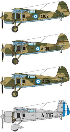 Greek PZL P.24. Ww2 Aircraft, Military Aircraft, Military Weapons, Westland Whirlwind, Hellenic Air Force, Camouflage, Air Machine, Ww2 Planes, Parasol