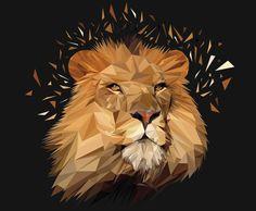 """""""geometric lion"""" - Google Search"""