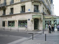 Laduree, Paris  Best cup of coffee I've ever had  Delicious Truffle Omelet, too!