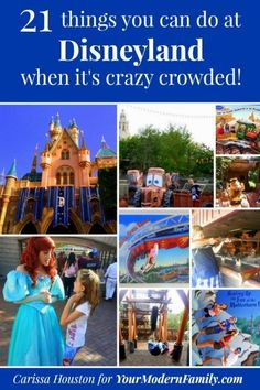 21 things to do at Disneyland when it's super-crowded