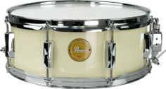 Pearl Vision Birch Snare Drum Ivory with Chrome Hardware 14x5.5 by Pearl. $99.99. The limited edition VX snare drum provides the powerful punch and aggressive attack that birch is known for. The functional and stylish appointments include a classic 8-lug design, limited edition badge, 1.6mm steel rims, and SR-900 dual strainer. Choose black with black hardware or ivory with chrome hardware.. Save 50%!