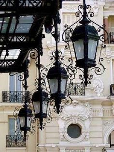Street Lamps, Paris