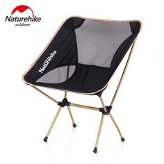 Furniture Modest Foldable Moon Chair Fishing Camping Barbecue Stool Hiking Seat Portable Chair Aluminum Alloy+oxford Cloth Lightweight Chair
