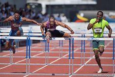 110 m Haies - Meeting d'Athletisme de Marseille 2015