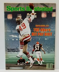 ba53ab34b4dad6 February 1982 Sports Illustrated Joe Montana San Francisco 49ers Super Bowl  XVI #Magazine