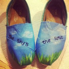 Toms Navy Wave Womens Classics