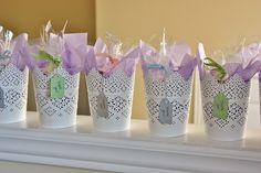 For Wedding Wednesday, I have another post from the lovely bridal shower my mother and sister hosted for me last month. They created so many wonderful details and I'm so happy that we remembe…