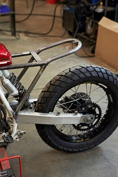 XR650 Scrambler build in Chicago - Page 4 - ADVrider