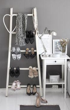 shoe ladder, lovely