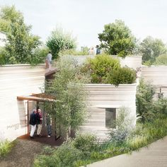 Thomas Heatherwick unveils design for plant-covered Maggie's Centre in Yorkshire.