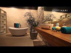 Cerâmica Portinari - Coleção Color Cement HD e Tessuti HD. Bathrooms - Baños, banho, banheiro.