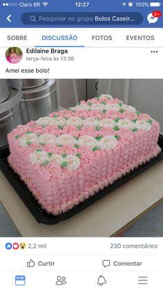 Cake Decorating Designs, Buttercream Decorating, Wilton Cake Decorating, Cake Decorating Techniques, Cake Designs, Cake Icing, Buttercream Cake, Cupcake Cakes, Cupcakes