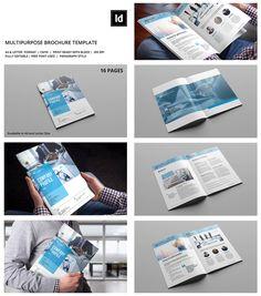 Best Indesign Brochure Templates  Creative Business Marketing