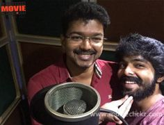 G V Prakash Kumar in love with Vijay's voice