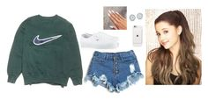 """."" by bittersweetgrande ❤ liked on Polyvore featuring NIKE and Vans"