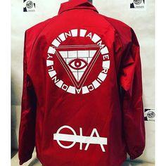 #Screenprinting #nylon #bond #ink on  #coach #jackets #private #label #screenprint #tshirt #tshirts #tshirtlife #bknyprinting #bkny #eny #nyc