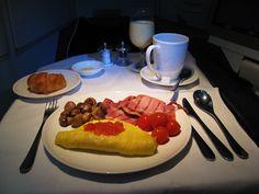 British Airways - Breakfast