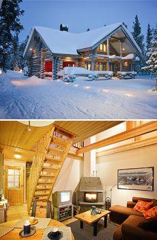 Ylläs Log Cabins Finland