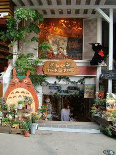 Totoro cafe Tokyo Japan