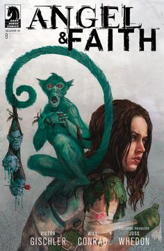 Angel & Faith: Season 10 #8. Long haired Angelus always looked kind of like a douche to me. No exception here. Still, good comic. Read 11/26/14