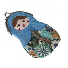 Russian Doll Purse - Blue