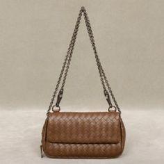 Bottega Veneta Intrecciato Nappa Messenger Mini Bag