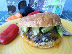 Have you ever tried baby Quinoa? It has a great taste and makes great Veggie Burgers. #vegetarian #meatless #pereg