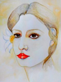 Luisa Dalartesa artist - Looking Gorgeous