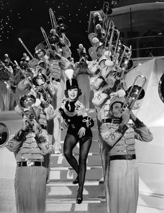 Eleanor Powell in Born to Dance directed by Roy Del Ruth, 1936