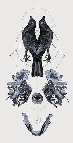 Panoply, the Neo-Traditional Illustrations by Hannes Hummel | the dancing rest