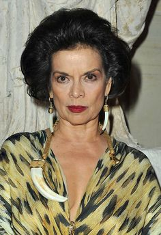 Bianca Jagger, Nicaraguan-born social and human rights advocate and a former actress and model, former wife of Mick Jagger.