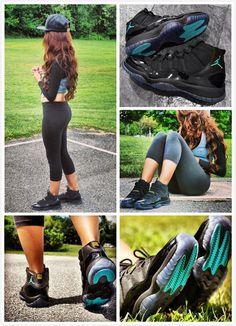 #sneakers #jordans11 http://www.nmafaculty.org/ajs/- Love her Hair.....