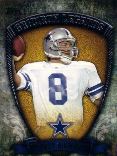 Troy Aikman - Dallas Cowboys Dallas Cowboys Crafts, Dallas Cowboys Football, Football Helmets, Baseball, Cowboy Crafts, Troy Aikman, How Bout Them Cowboys, Texas Pride, Nba Basketball