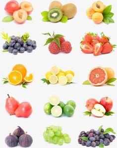 Frutas, Imagem De Frutas, HD, RealistaPNG e PSD