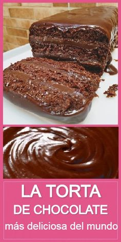 Torta Chocolate, Chocolate Desserts, My Favorite Food, Favorite Recipes, Gateaux Cake, Dessert Cake Recipes, Cake Business, Tasty, Yummy Food