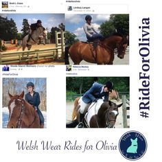 #TeamWelshWear rides for Olivia ! #rideforolivia  our thoughts and prayers go out to the family and friends of Olivia Inglis and her horse Coriolanus who passed away after a terrible fall wile on course in Australia last Sunday.