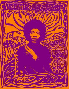 JIMI HENDRIX - Rare Concert Posters of the 60's and 70's ...