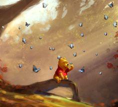 Winnie the Pooh Cute Winnie The Pooh, Winne The Pooh, Winnie The Pooh Quotes, Disney Fun, Disney Magic, Disney Pixar, Eeyore, Tigger, Photo Vintage