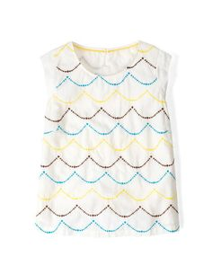 Cecile Top WA585 Short Sleeved Tops at Boden