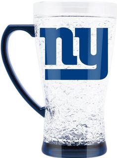 ONE NEW YORK GIANTS 16oz FLARED CRYSTAL FREEZER  MUG FROM DUCKHOUSE #DuckhouseSports #NewYorkGiants