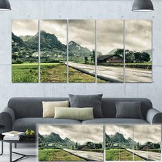 Rural Village - Landscape Photography Art Print
