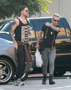 Adam Lambert - Adam Lambert Drops Off His Ex-Boyfriend